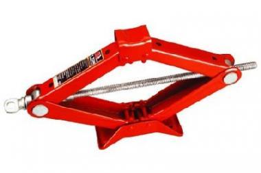 Zvedák nůžkový 2t - Zvedák nůžkový 1.5t, Minimální výška: 75mm Zdvih: 365mm Váha: 2,9 kg Použití: Vhodný zejména do výbavy osobních a dodávkových vozidel vozidel. lehký a skladný zvedák do auta nebo garáže