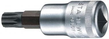 """Hlavice 1/2"""" XZN M12 - Hlavice 1/2"""" XZN M12 HONITON Hlavice zástrčná XZN (tisícihran) Rozměr: M 12 Délka 55 mm Materiál:Chrom-Vanadium"""