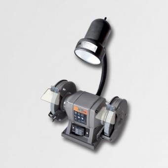 Bruska dvoukotoučová 125mm se svítidlem 40W, 19443 - Bruska dvoukotoučová 125mm se svítidlem 40W Technické parametry: Rozměr kotouče : 125x16x12,7mm Napětí 220V/50Hz Otáčky 2850ot/min Výkon 150W Jmenovitý příkon 760 W Hmotnost 2,4 kg Výrobce: XTline O zna