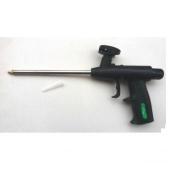 Pistole stříkací na dutiny a spodky LB-15 - Aplikační pistole na PU pěnu, DR-2020 Aplikační pistole na PU pěnu plastový skelet, kovová tryska