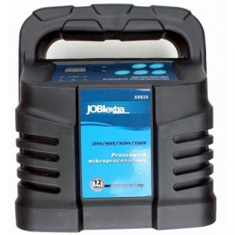 Elektronická nabíječka, 15A, 12V, gel/procesor,X9935 - Elektronická nabíječka, 15A, 12V, gel/procesor,X9935 Elektronická nabíječka, 15A, 12V, gel/procesor, hlavní technické parametry: napětí / frekvence: 230V / 50Hz stejnosměrné napětí: 12V třída izolace: