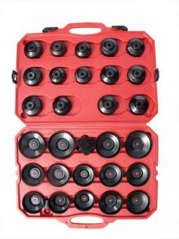 Sada miskovitých klíčů na olejové filtry - HC-66/6 - 66 mm, 6-hran Fiat (Punto 1.2), Renault (Clio 1.2 Express, Kangoo, Rapid, Twingo) atd. HC-65/14 - 65 mm, 14-hran Fiat, Champion, Hastings, GM/AC, Wix, Napa, Purolator, Daihatsu, Toyota, Nissan atd. HC-6