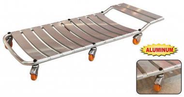 Montážní lehátko polohovací - Montážní lehátko hliníkové Rozměry: 1020x420x130mm Použití:autoservisy,autodílny,autodopravy,garáže a.j.