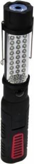 Svítilna 27+1LED, na 3ks AAA baterie SWM09 - Svítilna 27+1LED, na 3ks AAA baterie TECHNICKÉ PARAMETRY * Solight pracovní a outdoorová svítilna * Počet LED diod: 27 LED + 1W LED * Svítivost: 27 x 13000mcd + 70lm * Otočná o 360°, ohebná o 180° * Silný magne