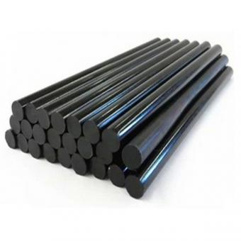Lepící tavné tyčinky černé 11x300mm 1 kg,19908