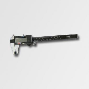 Posuvné měřítko kovové digitální 200mm 14008 - Posuvné měřítko kovové digitální s rozsahem měření, 0-150mm, odchylka 0,01mm, hloubkoměr, baleno v plastové kazetě Výrobce: JobiProfi