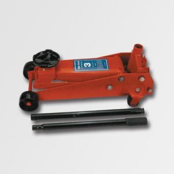 Hydraulický hever pojízdný 3t AG26823 - Hydraulický zvedák pojízdný 3t Minimální výška: 145mm Maximální výška: 520mm Rozměry:695x346x180mm Váha: 37,5kg Zvedání a spouštění vozidla se provádí pomocí ovládací tyče