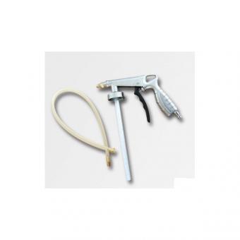 """Pistole stříkací na dutiny a spodky LB-15 - Pistole stříkací na dutiny a spodky Pracovní tlak 2-6 bar Spotřeba vzduchu 200l/min. Připojení vzduchová rychlospojka 1/4"""" Pistole z lehké slitiny Použití: Vhodná na stříkání dutin karosérií a spodků automobilů"""