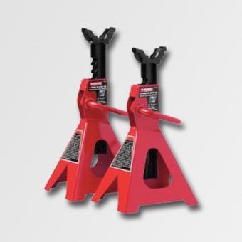 Stavitelné podpěry-zajištovací sloupky pár 2t PT4204 - Stavitelné podpěry -zajištovací sloupky pár 2t PT4204 Minimální výška: 285mm Maximální výška: 425mm Rozměry základny: 190x175cm Váha: 5,5 kg Zdvih jištěný pojistkou Použití: Vhodné pro autoservisy, au