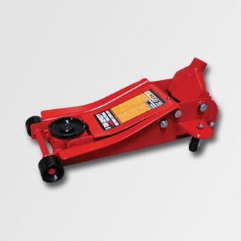 Hydraulický zvedák pojízdný 2,5t nízký - Hydraulický zvedák pojízdný 2,5t nízký Minimální výška: 85mm Maximální výška: 455mm Rozměry:640x342x174mm Váha: 34,8kg