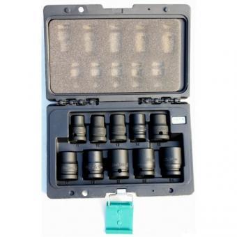 """Průmyslové hlavice 1/2"""" HONITON H4001 - Sada průmyslových/kovaných hlavic 1/2"""" HONITON 10ks 1/2"""" v plastovém obalu Rozměry: 11-24 mm hlavice průmyslová 1/2"""" : 11 mm, 12 mm, 13 mm, 14 mm, 16 mm, 17 mm, 19 mm, 21 mm, 22 mm, 24 mm ocel : chrom - vanadium- mo"""