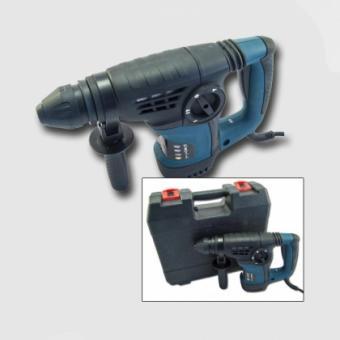 Kladivo kombinované5J 900W HD30 - Kombinované kladivo 5J 900W HD30 XT106030 Technické parametry: napětí/frekvence:230V/50Hz příkon:900W otáčky:830/min počet příklepů:0-4300/min síla úderu:5J max. vrtání do dřeva:30mm max. vrtání do betonu:30mm max. vrtání