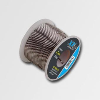 Cín pájecí 1mm, 200g 19932 - Cín pájecí 1mm, 200g na plastové cívce Cín trubičkový na cívce Průměr: 1mm Hmotnost: 200g Vhodný pro pájení v elektrotechnice. XTline