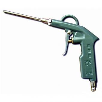 """Pistole ofukovací střední LA-02,, 19657 - Pistole ofukovací střední LA-02 Vzduchová pistole ofukovací z lehké slitiny s tryskou dvěma různě dlouhými nástavci,rychlospojkou 1/4"""" a nástavcem pro napojení vzduchové hadici bez rychlospojky. Použití: čištění p"""