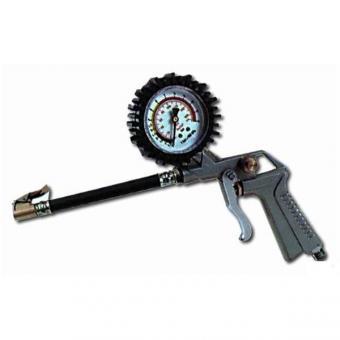 Pistole s manometrem,, 19614 - Pistole s manometrem, TG-11 Pistole na huštění pneumatik s manometrem, Rozměry: max. 10 atm,
