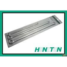 Sada klíčů HONIDRIVER 3 dílná prodloužené H003 - Kvalitní Profi klíče 3 ks prodloužené HONITON. systém HONDRIVER Obsah sady: Klíče : 8 x 10 mm, 11 x 13 mm, 14 x 15 mm mm Materiál:chrom vanadium HONITON byl založen v roce 1979 a v současné chvíli je lídrem